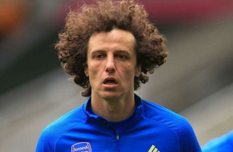Arsenal confirm David Luiz transfer exit at end of season with defender leaving after two years following mixed spell