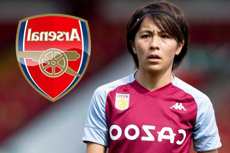 Arsenal land Japan star Iwabuchi months after being linked with the former Aston Villa ace