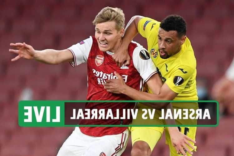 Arsenal vs Villarreal LIVE RESULT: Unai Emery DUMPS out Gunners as season ends trophyless – latest reaction