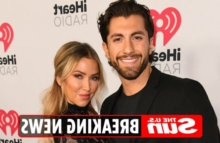 Bachelorette Kaitlyn Bristowe and Jason Tartick engaged after 'intense surprise proposal' that left star 'blacked out'