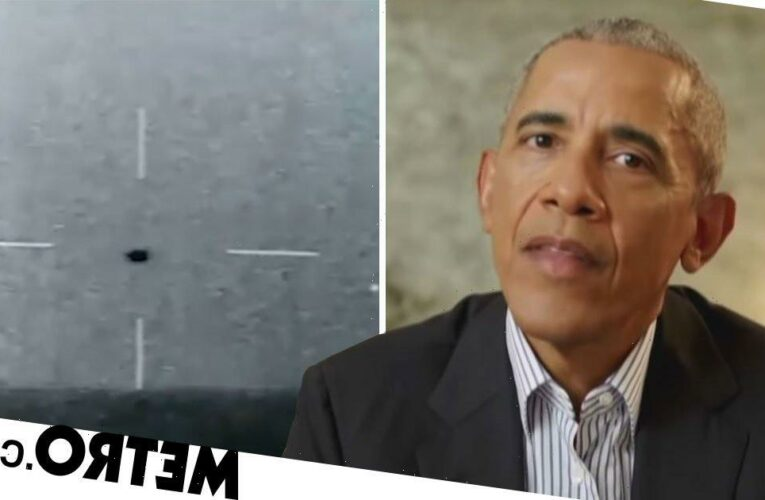Barack Obama says UFO sightings are real as 'we can't explain them'