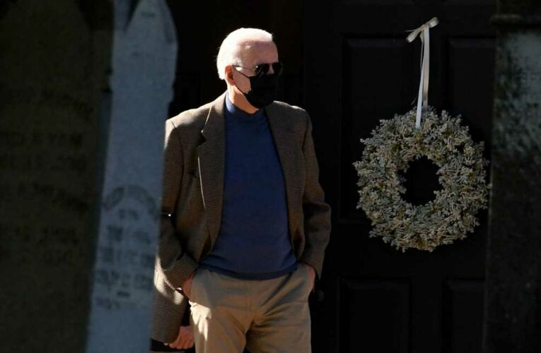 Biden wears mask outdoors as 'extra precaution,' White House aide says
