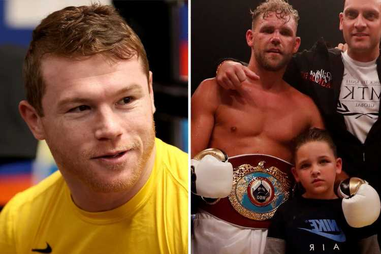 Billy Joe Saunders claims he'd 'never see' his kids again if it meant he could beat Canelo Alvarez