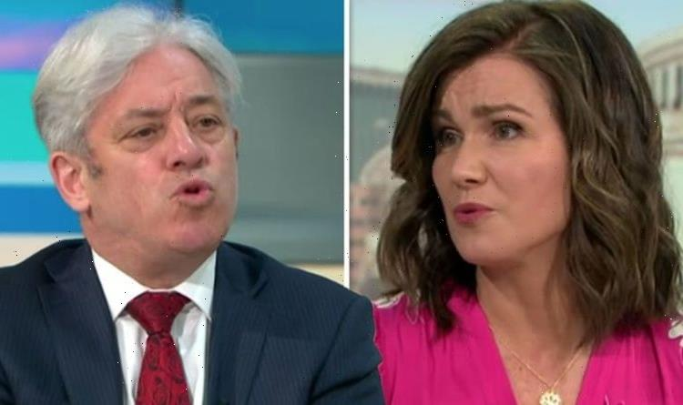 'Bring back Piers!' GMB fans furious as Bercow's Boris 'puppy dog' jibe humiliates Susanna