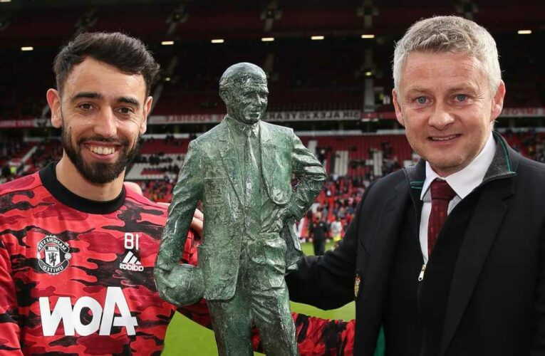 Bruno Fernandes wins Man Utd Player of the Year award despite being SNUBBED by some team-mates for Luke Shaw