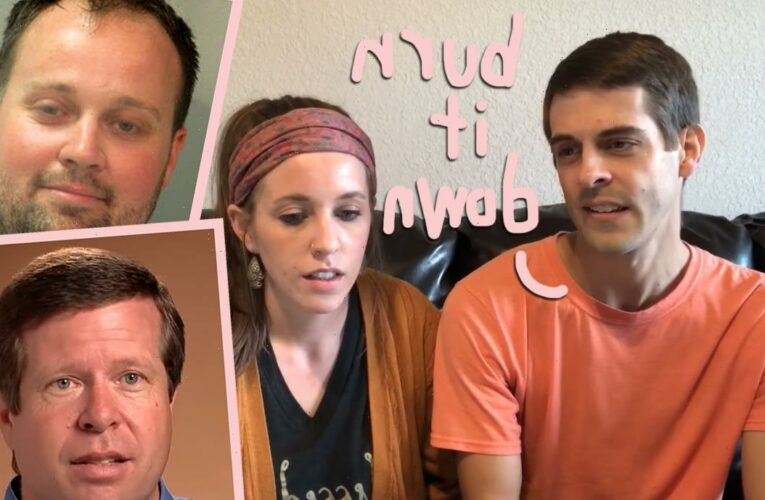 #CancelTheDuggars! Derick Dillard Takes A Stand Against Wife's Family After Josh Duggar Arrest!