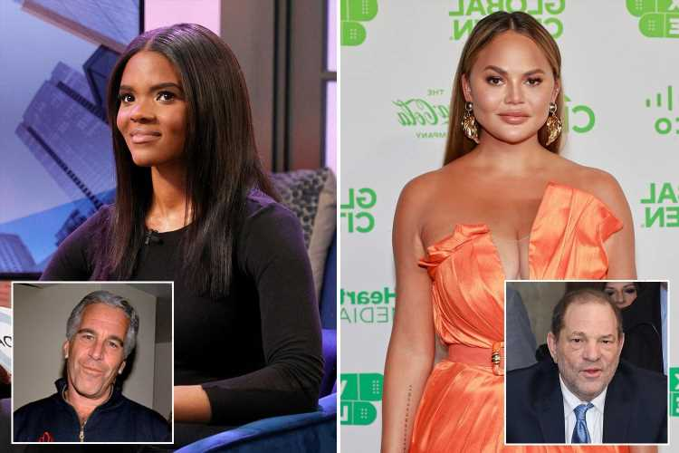 Candace Owens says 'Hollywood protects predators' and compares Chrissy Teigen to Weinstein and Epstein in fiery tweet