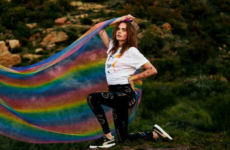 Cara Delevingne launches new Pride collection with Puma