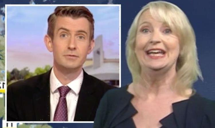 Carol Kirkwood holds head in hands as BBC Breakfast co-star 'throws her under the bus'