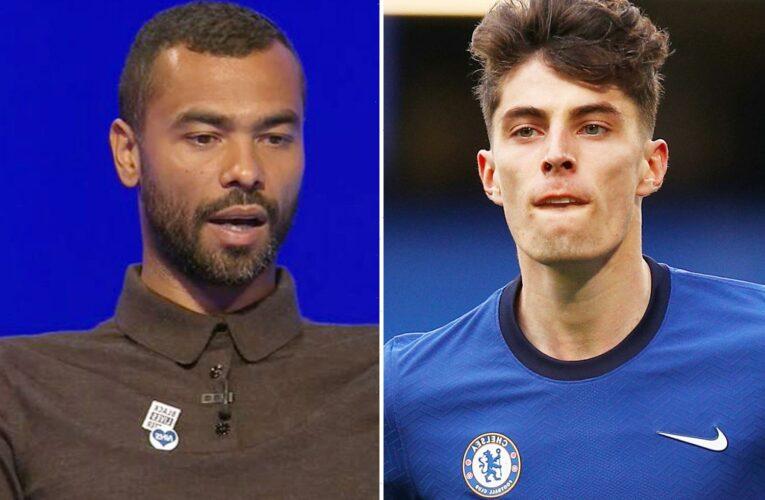 Chelsea ace Kai Havertz pleads with Thomas Tuchel to unleash him on Real Madrid as Ashley Cole hails 'fantastic' striker