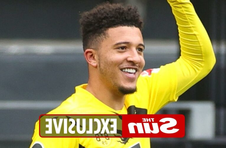 Chelsea launch £80MILLION bid for Man Utd target Jadon Sancho with Thomas Tuchel huge admirer of Borussia Dortmund star