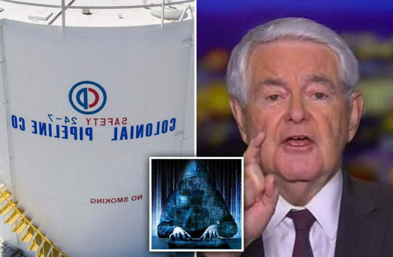 Colonial Pipeline cyber attackers should be EXECUTED after 'act of war',  Newt Gingrich says