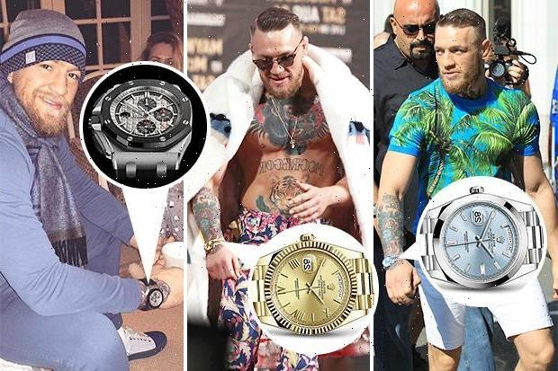 Conor McGregor's £1MILLION-plus watch collection, including timepieces from luxury brands Rolex and Patek Philippe – The Sun