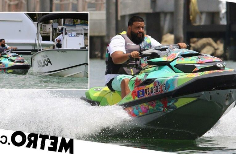 DJ Khaled gets stopped for speeding in latest jet ski debacle