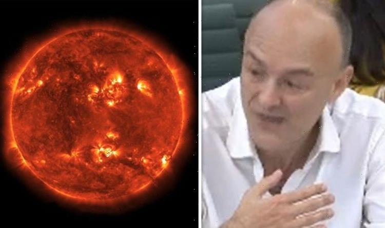 Dominic Cummings claims Government's solar flare defence is 'hopeless' -'Worse than Covid'