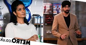 EastEnders star Jaz Deol reveals Kheerat's cold rage as Suki betrays him