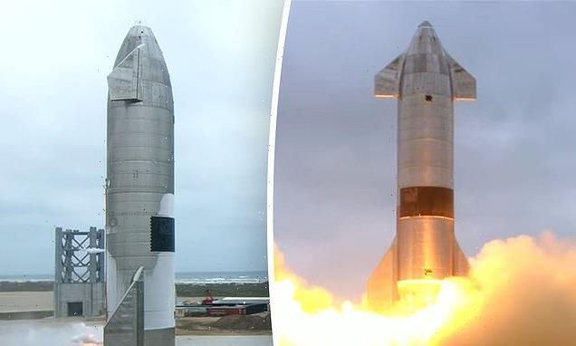 Elon Musk's SpaceX reveals plans for Starship's first orbital flight