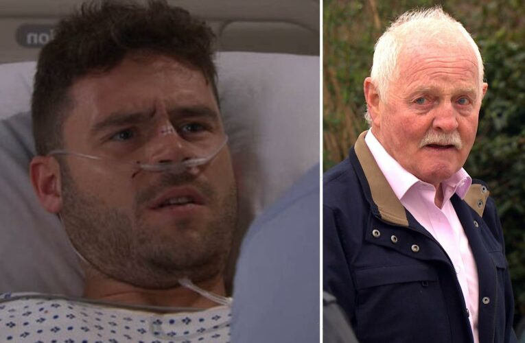 Emmerdale spoilers: Aaron Dingle rushed to hospital after being attacked by Eric Pollard