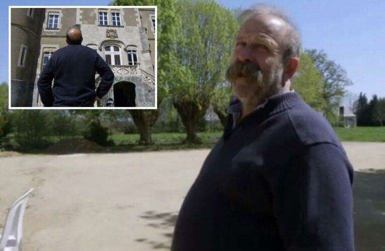 Escape to the Chateau's Dick Strawbridge gasps 'we're f***ed' after spotting 'hopeless' problem with property