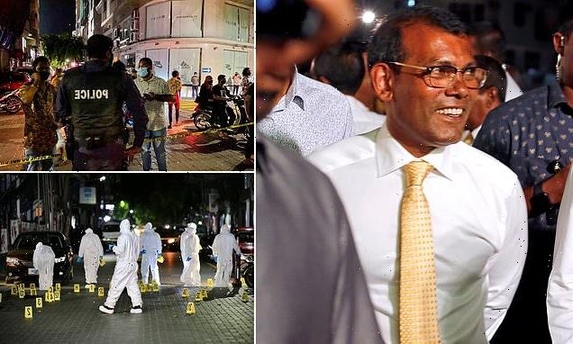 Ex-President of the Maldives injured in bomb blast as he leaves home