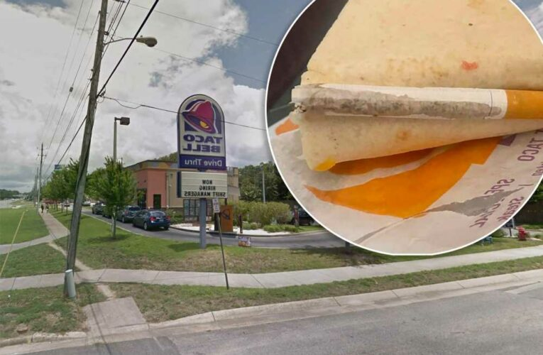 Florida woman finds cigarette in Taco Bell meal
