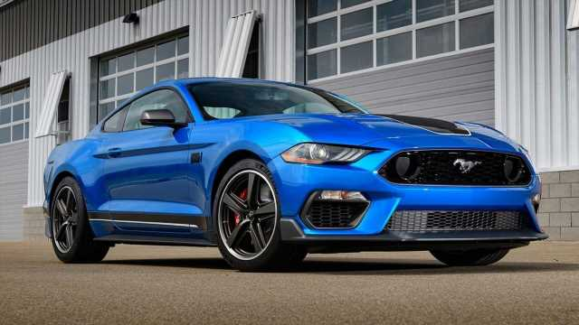 Ford's Mustang sales fall but April still strong
