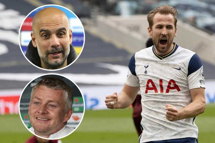 Harry Kane 'tells Tottenham he wants transfer exit this summer with Man Utd, Man City and Chelsea already in touch'