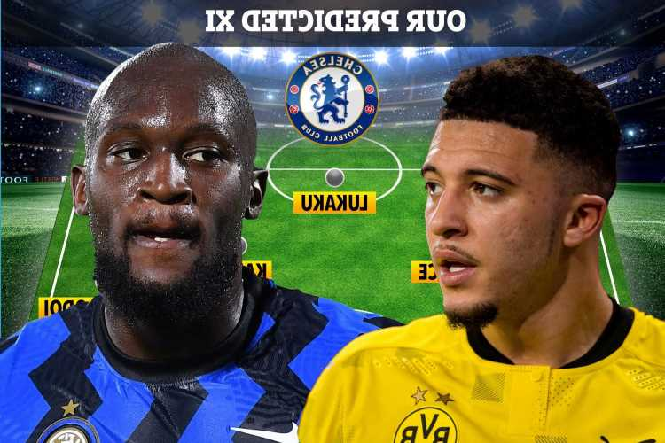 How Chelsea could line-up with Jadon Sancho, Romelu Lukaku, Rice and Marquinhos with transfer spree plotted this summer