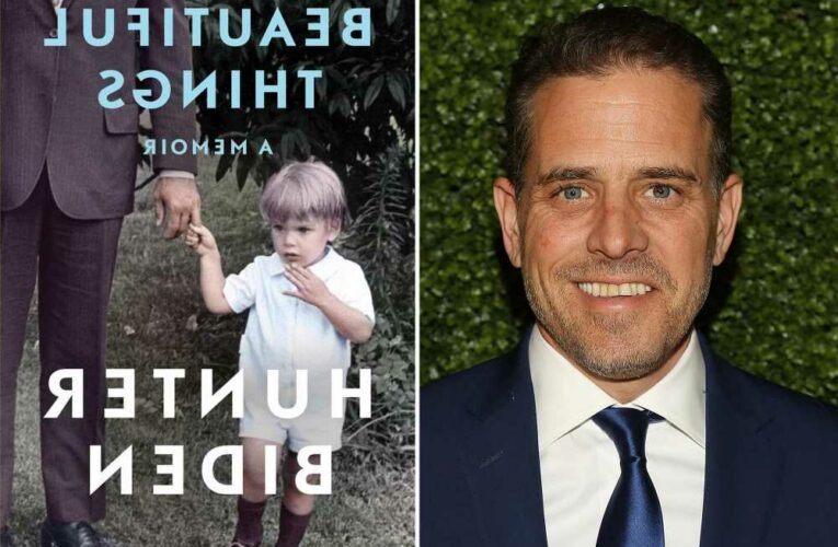 Hunter Biden writing sequel to 'Beautiful Things' despite poor sales
