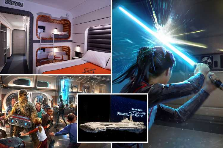 Incredible pics of Disney World's new Star Wars hotel coming 2022 – with lightsaber training and live shows on the ship