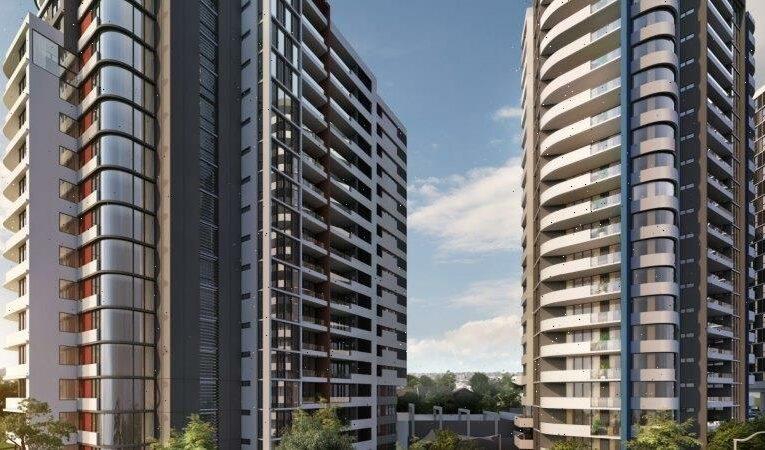 Inspectors investigate five-tower apartment block amid building defect allegations