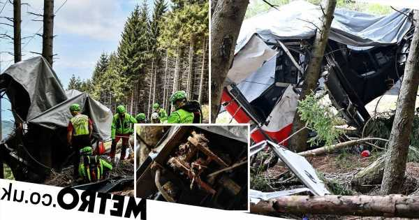 Italian cable car 'tampered with' before crash killed 14
