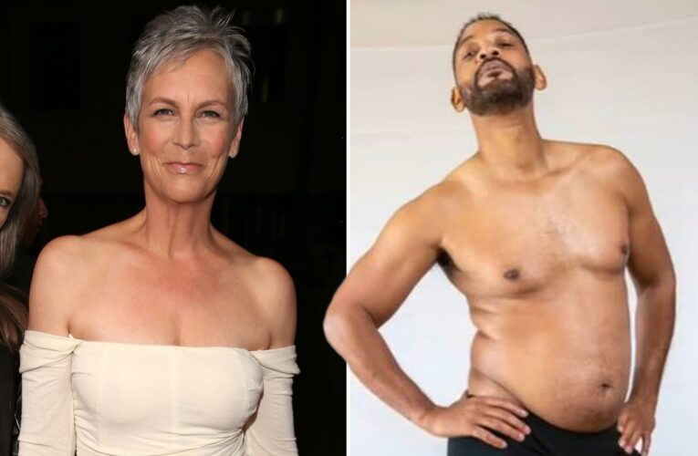 Jamie Lee Curtis shows off curves in sports bra after Will Smith says he's in 'the worst shape of his life'