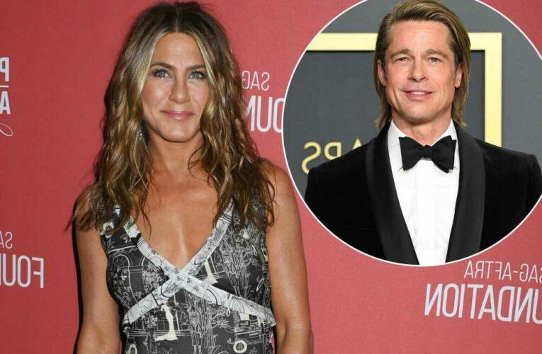 Jennifer Aniston: 'Wonderful' Brad Pitt was a favorite 'Friends' guest