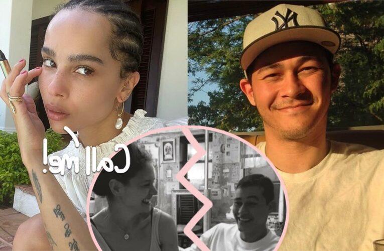 Katie Holmes' Ex Emilio Vitolo Jr. Seen With Newly Single Zoë Kravitz!