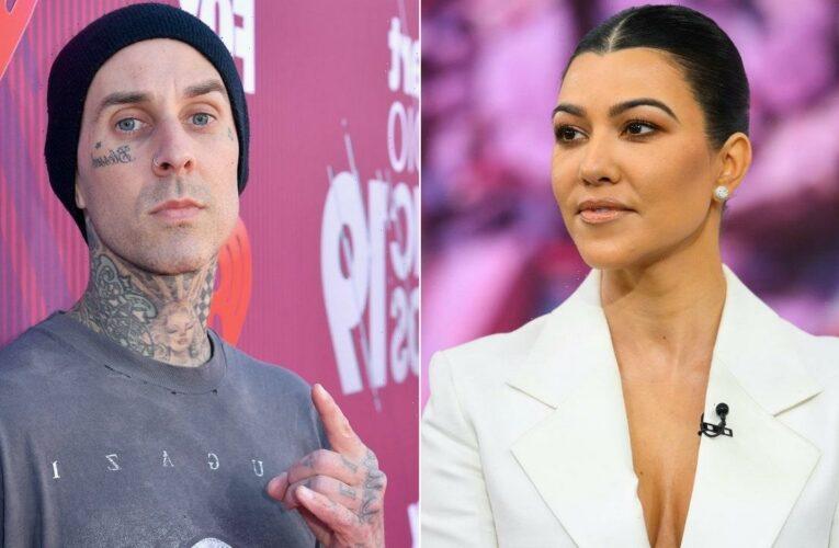 Kourtney Kardashian Just Gave Her Boyfriend a Tattoo