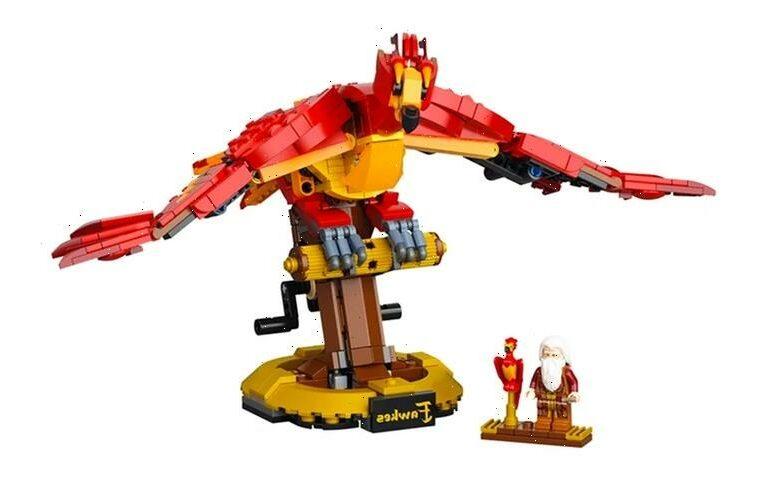 LEGO Imagines Dumbledore's Fiery Phoenix, Fawkes