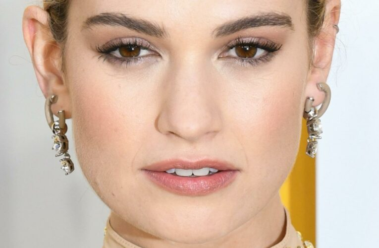 Lily James Addresses Her Scandal With Dominic West