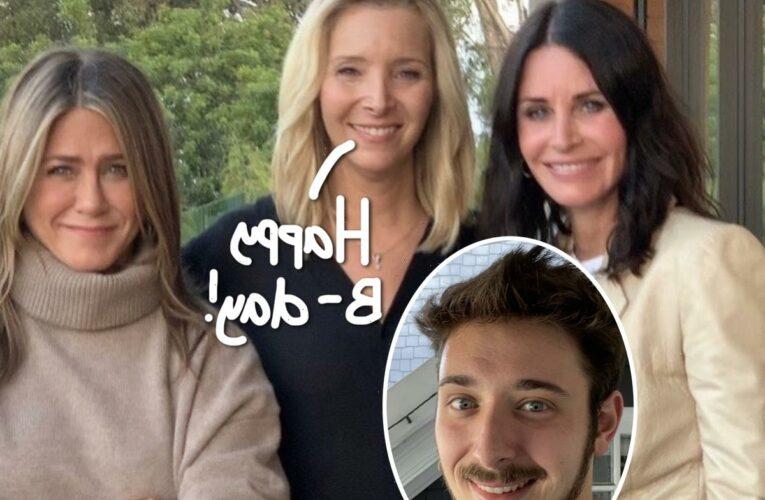 Lisa Kudrow & Friends Cast Celebrate Her Son Julian's 23rd Birthday!