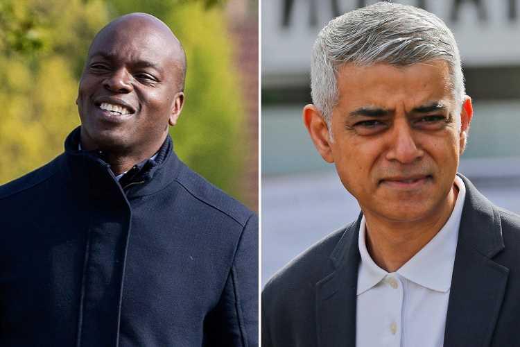 London mayor election: Race tightens as early votes show Sadiq Khan's lead over Shaun Bailey narrows