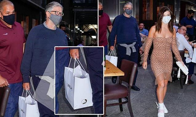 Luxury leftovers! Bill Gates leaves pricey Nobu with a doggie bag