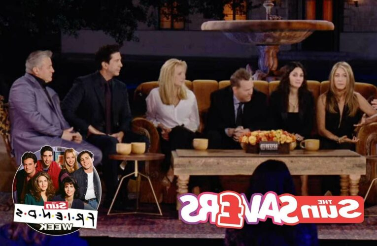 Make the most of the Friends reunion with your own home viewing party