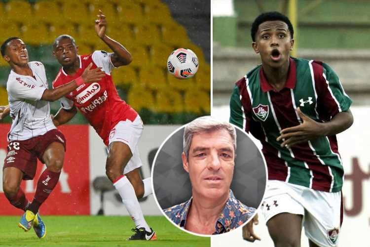 Man City new signing Kayky, 17, has been thrown in at the deep end at Fluminense, appearing in the Copa Libertadores