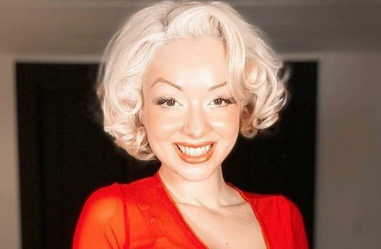 Marilyn Monroe lookalike shows how she used to look before she went vintage