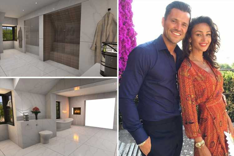 Mark Wright reveals dream home plans with sauna, steam room and a wardrobe JUST for Michelle Keegan's shoes and bags
