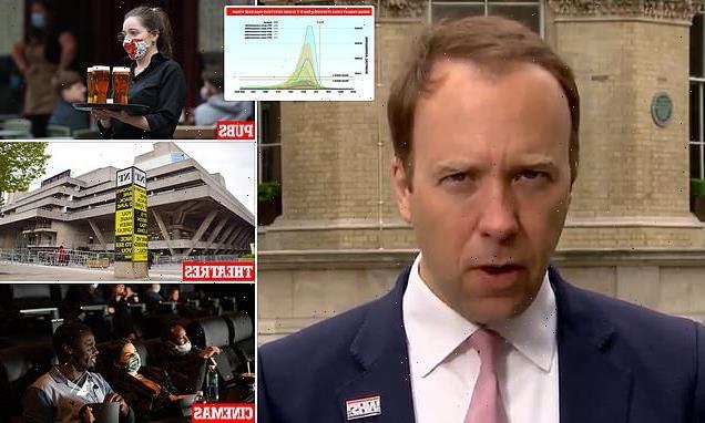 Matt Hancock warns hug 'carefully' as Britain set to unlock tomorrow
