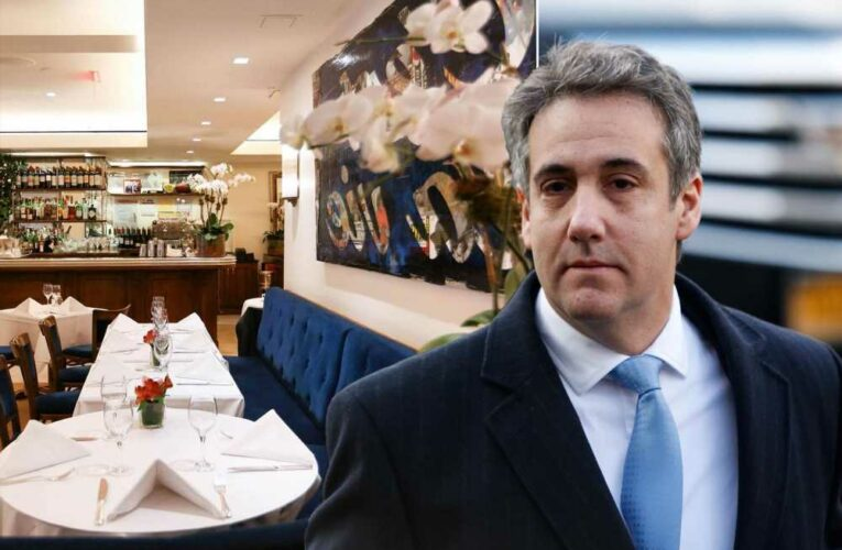 Michael Cohen, still under house arrest, spotted dining at NYC's Le Bilboquet