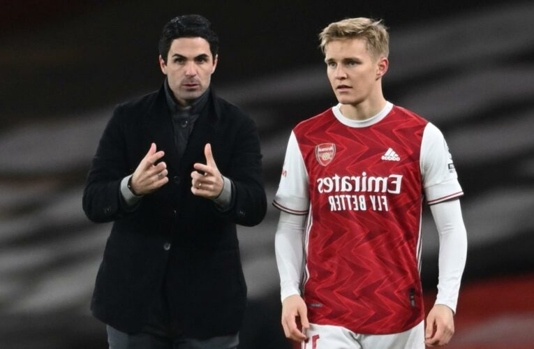 Mikel Arteta confirms Arsenal will open Martin Odegaard transfer talks with Real Madrid 'in next few weeks'