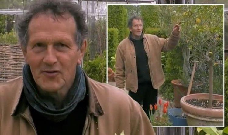 Monty Don forced to make major change to garden plans as weather wreaks havoc: 'Too cold'