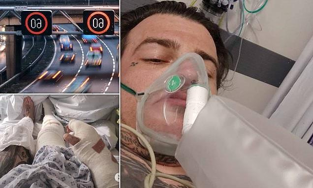 Motorcyclist demands smart motorways are ditched after horror accident